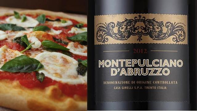 21.03.14 Montepulciano d'Abruzzo 2012 M&S pizza copy